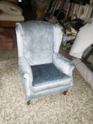 Retapizado de sillón orejero